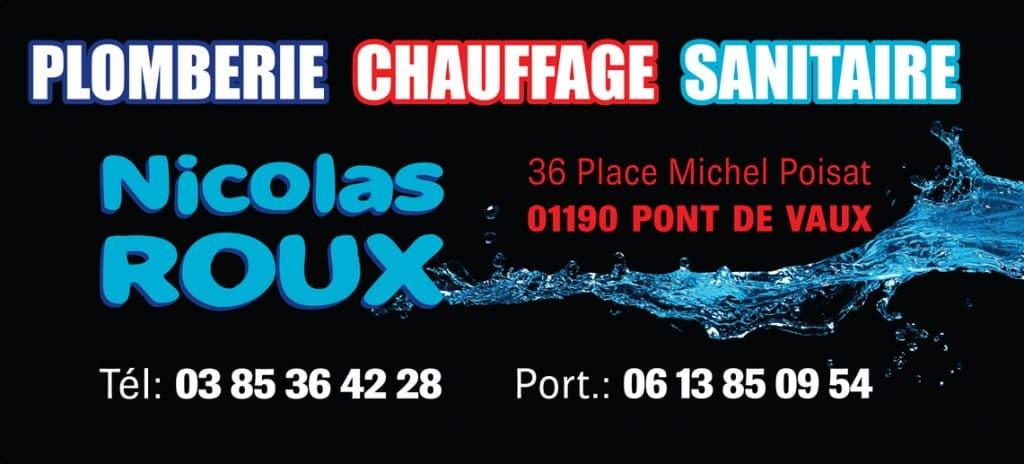 Logo Nicolas Roux plomberie chauffage sanitaire