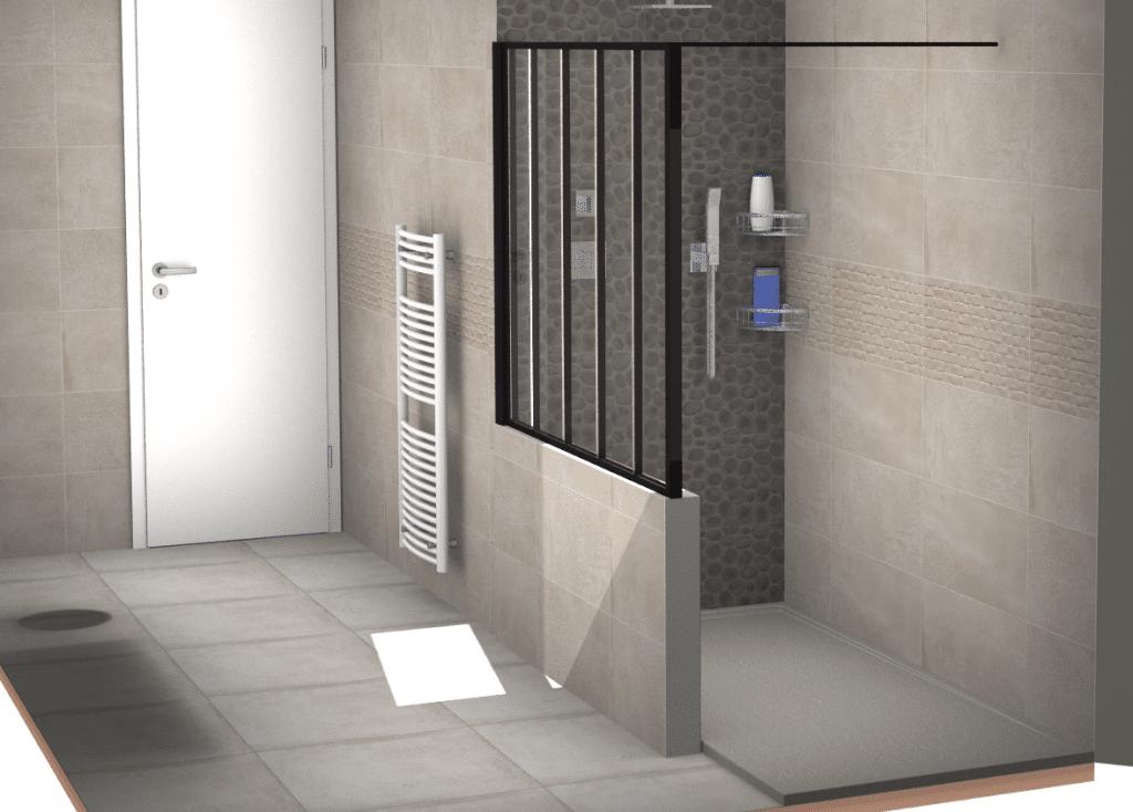 faïence salle de bain clé en main